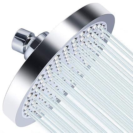 Bathroom Fixtures Shower Heads Intelligent Handheld High Pressure Shower Head High Flow Overhead Powerful Shower Head For Spa Shower Bath