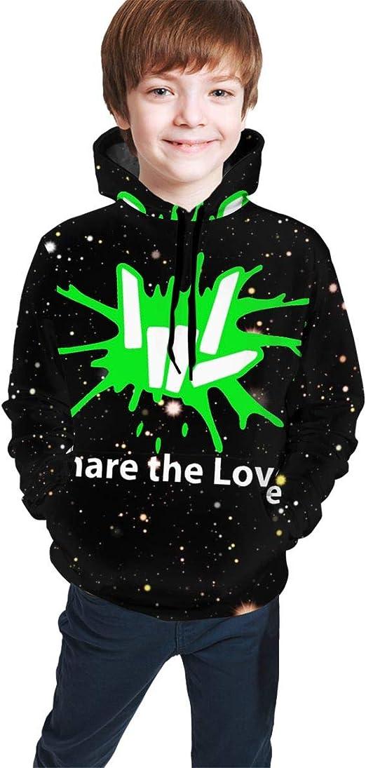 Share The Love Kids Hoodie Boy Girl Youths Hooded Sweatshirt Stephen Sharer Top