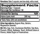 Natrol Alpha Lipoic Acid 300mg Capsules 50 Count Pack of 3 Discount