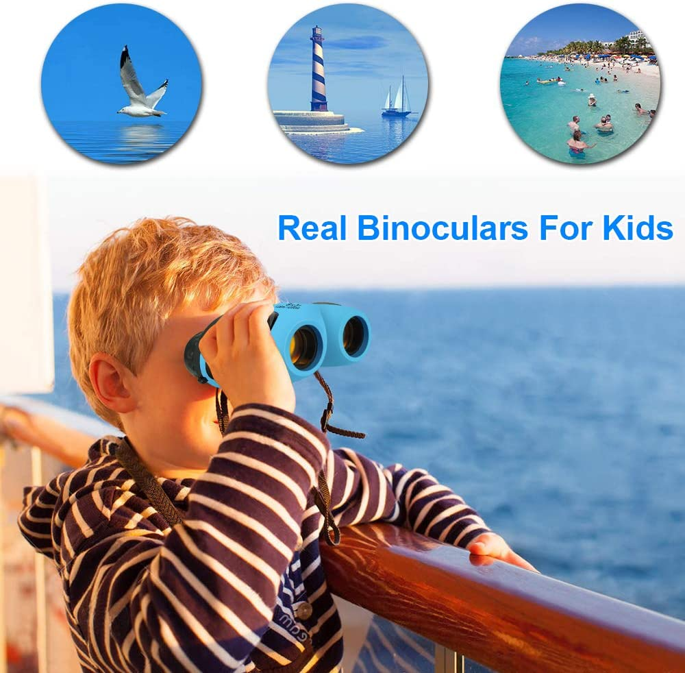 Best Gifts DMbaby Compact Waterproof Binocular for Kids