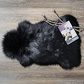 Amazon Com Ashler Soft Faux Sheepskin Fur Chair Couch