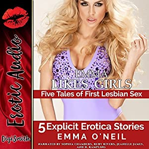 Emma Likes Girls: Five Tales of First Lesbian Sex Audiobook