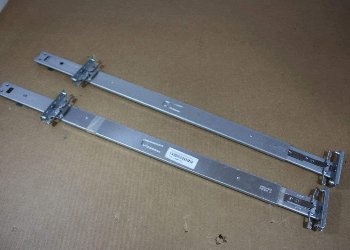 Genuine HP Proliant DL380 G6 G7 DL385 G6 G7 Server Access Rail Kit 30in Length Left and Right 487250-001 (Renewed)