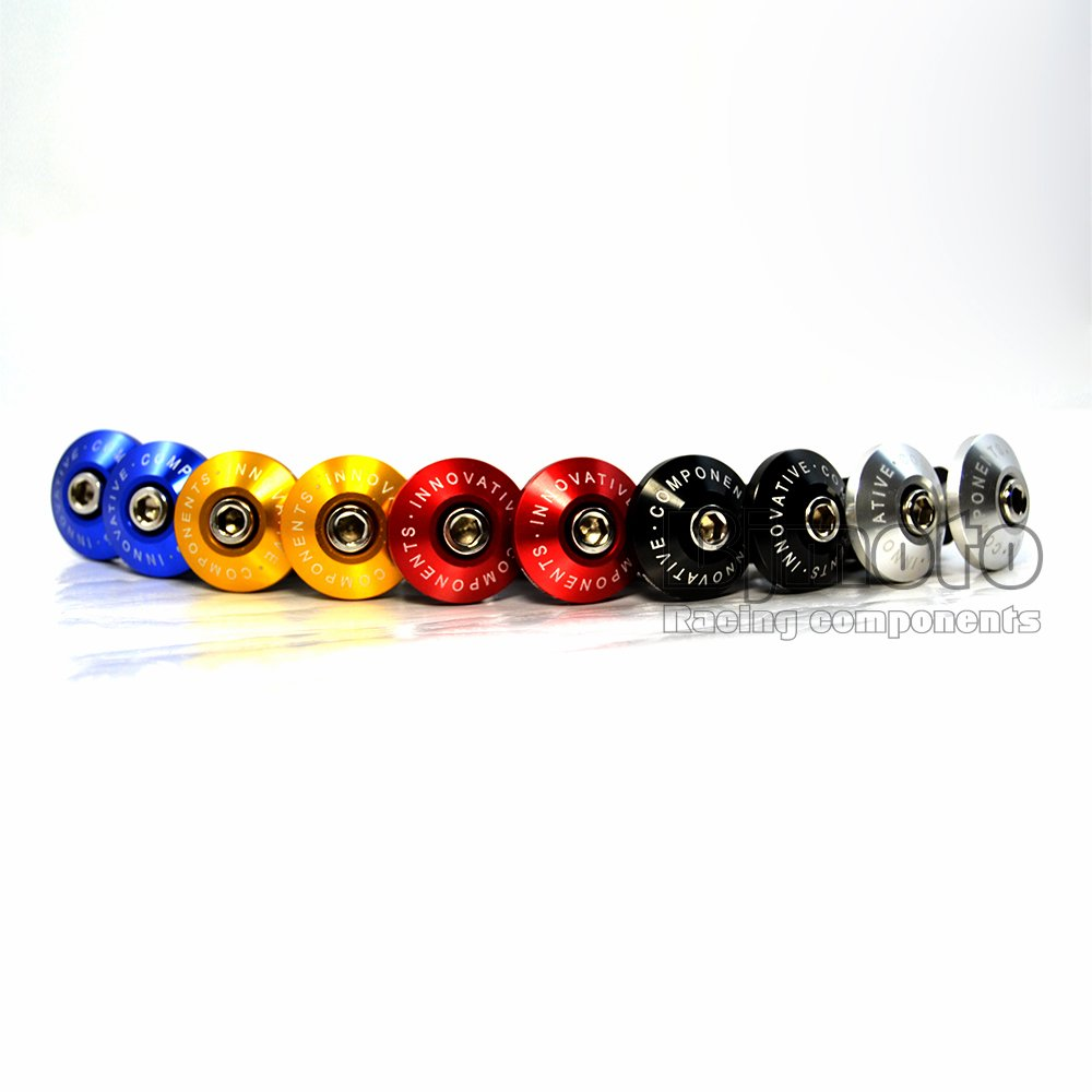 BJ Global New Arrival Black Color Motorcycle CNC Billet Handlebar Grips Bar Ends Slider for Suzuki Bandit 600