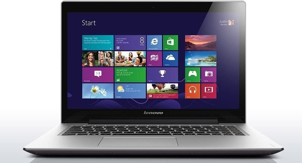 Lenovo IdeaPad U430 Touch Ultrabook 14-Inch Touch-Screen Laptop, (Intel Core i5-4210U processor, 8GB Memory, 500GB Hard Drive + 8GB SSD)