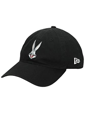 New Era Men Caps Snapback Cap Looney Tunes Bugs Bunny Black Adjustable 5051747d779