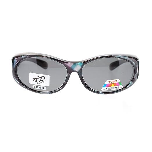amazon com womens narrow oval fit over polarized anti glare Glasses Sunglasses womens narrow oval fit over polarized anti glare sunglasses blue geometric