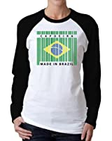 Idakoos - Capoeira made in brazil - Countries - Women Raglan Long Sleeve T-Shirt