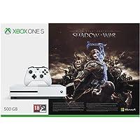 Xbox One S 500GB Konsole + Mittelerde: Schatten des Krieges