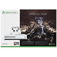 Xbox One S - Consola 500 GB + Sombras De Guerra + Game Pass (1M)