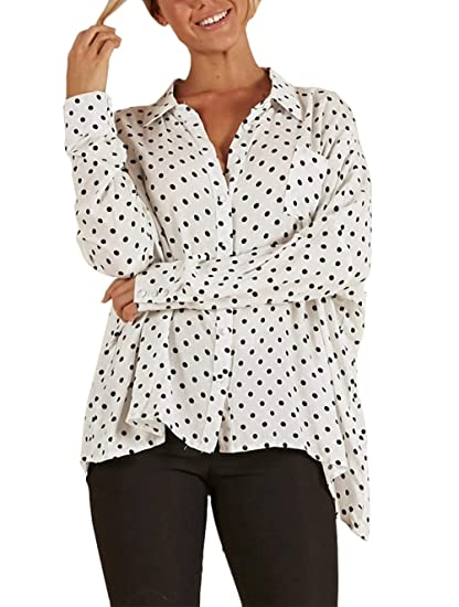 Camisas Moda Verano Mujer Señoras Anchos Blusas Superiores Moda ...