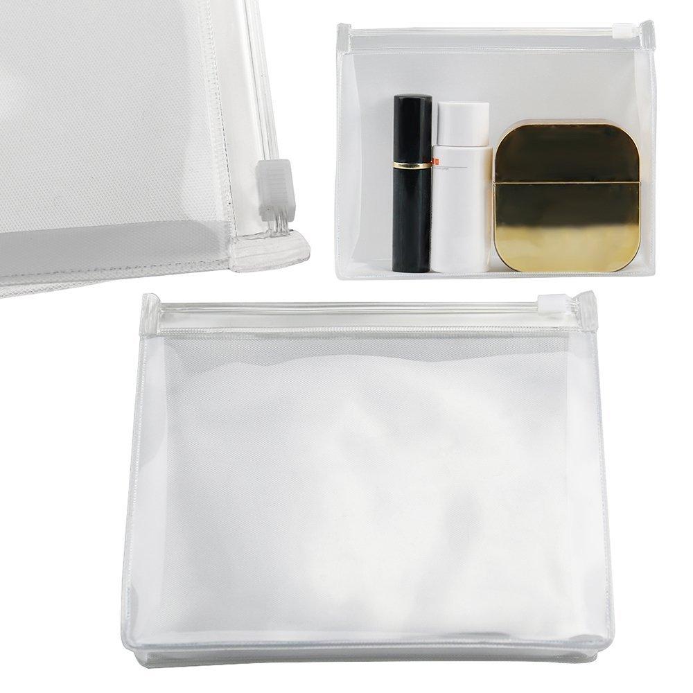 4dd4ad9787e 1 neceser de plástico PVC transparente impermeable para cosméticos ...