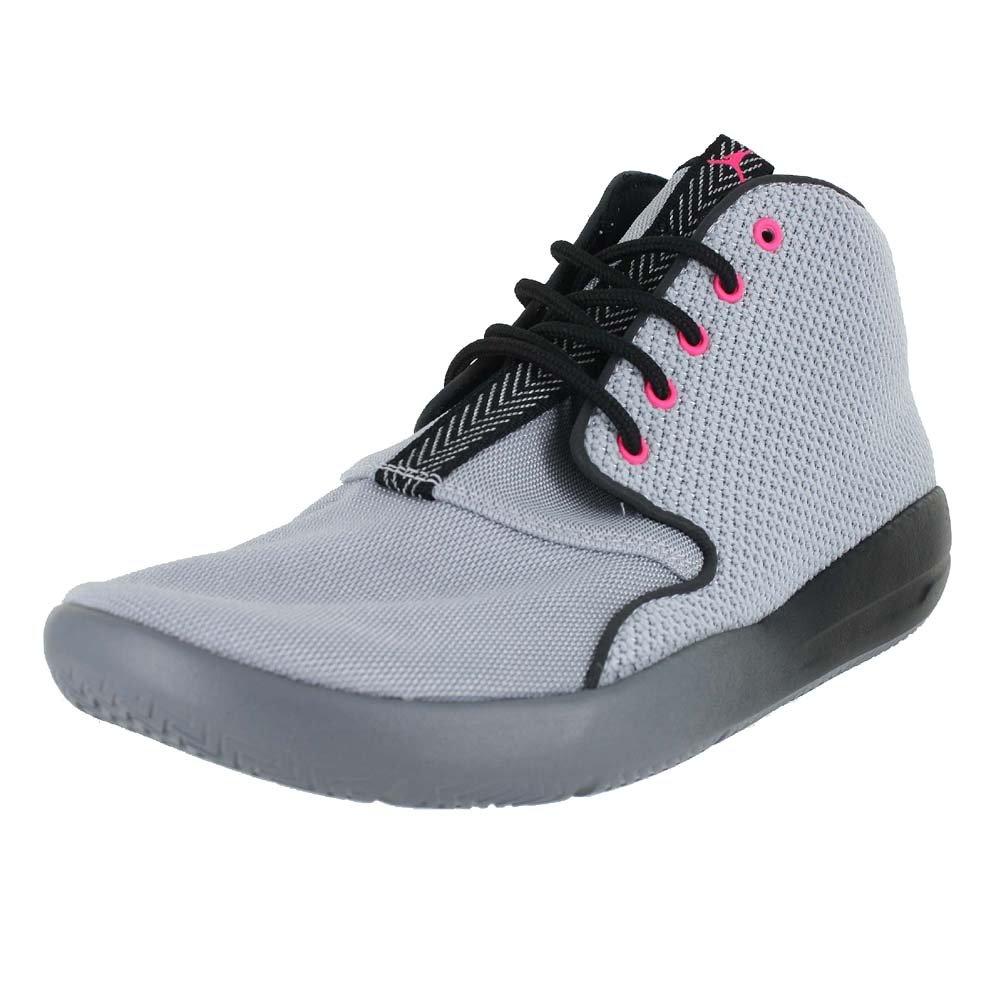 NIKE Jordan Kids Jordan Eclipse Chukka GG Grey Black Cool Grey Pink Size 8.5