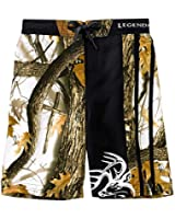 Legendary Whitetails God's Country Camo Youth Lakeside Swim Trunks