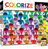 paint puzzle - MasterPieces Colorize Coming Down Buckets - Paint Buckets 1000 Piece Jigsaw Puzzle