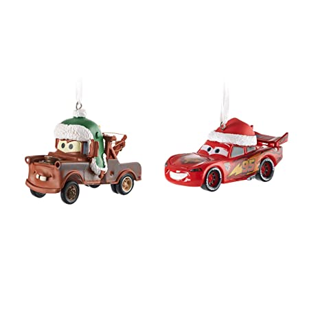 Disney Cars Christmas Decorations.Hallmark Disney Pixar Cars Lightning Mcqueen And Mater
