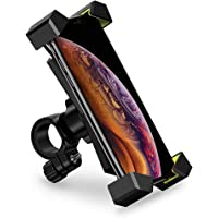 UGREEN Bike Phone Holder, Bicycle Motorcycle Phone Mount Stainless Steel Handlebar Mount 360 Rotation on Stroller…