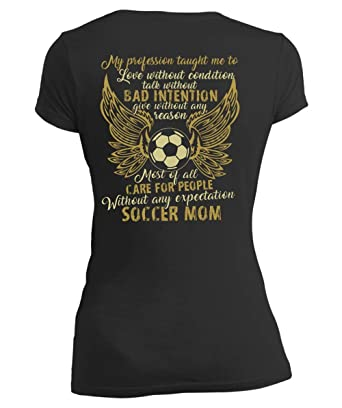 Amazon.com: My Profession Taught Me - Camiseta con cuello en ...