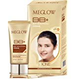 MEGLOW BB+ CREAM With SPF 15 for Women, 30g