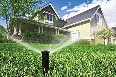 """Orbit 4"""" Adjustable Spring-Loaded Pop-Up Sprinkler Heads (5 Pack)"""
