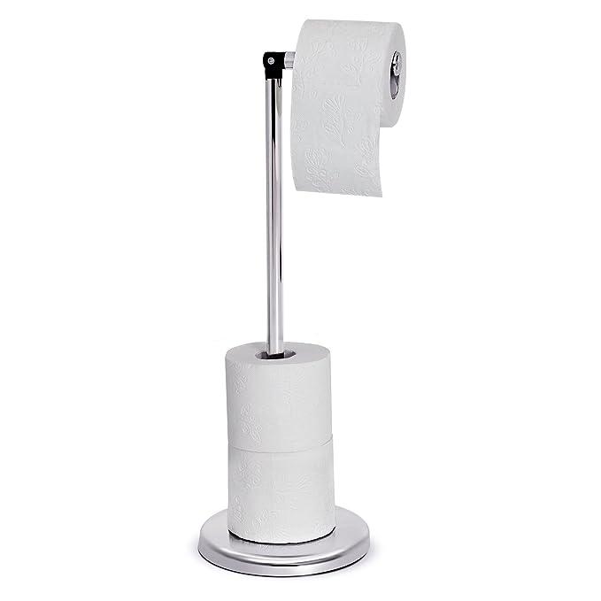 58 opinioni per Tatkraft Ingrid Supporto per rotolo di carta igienica in acciaio cromato,
