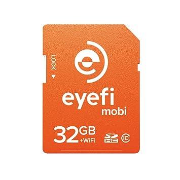 Amazon.com: Eye-Fi Eyefi Mobi WiFi SDHC de 32 GB clase 10 ...