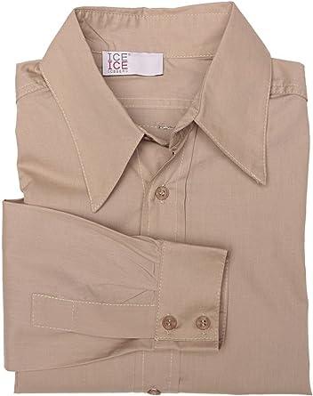 Iceberg - Camisa - para niño marrón claro 8 años: Amazon.es ...