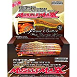 MUSCLEMAXX - High Protein - Energy Snack Bar - Peanut Butter White Chocolate