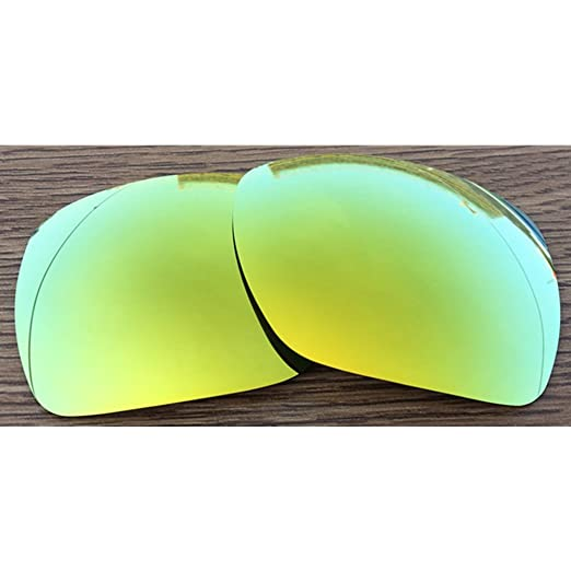 31f4346dbf Inew Polarized Replacement lenses For Your Oakley Deviation 24K Gold  MirrorShield-Polarized