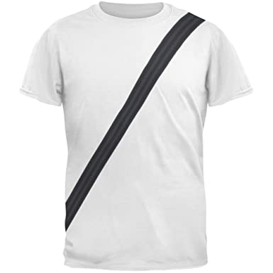 af8e09d3781b6 Old Glory Seatbelt Driver Side Costume All Over Adult T-Shirt