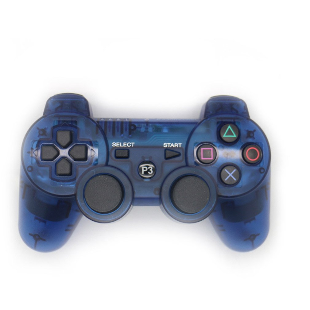 Vibración doble JWD LowClick TTSAM inalámbrico recargable Bluetooth mando remoto Joystick Gamepad para Playstation 3 PS3: Amazon.es: Electrónica