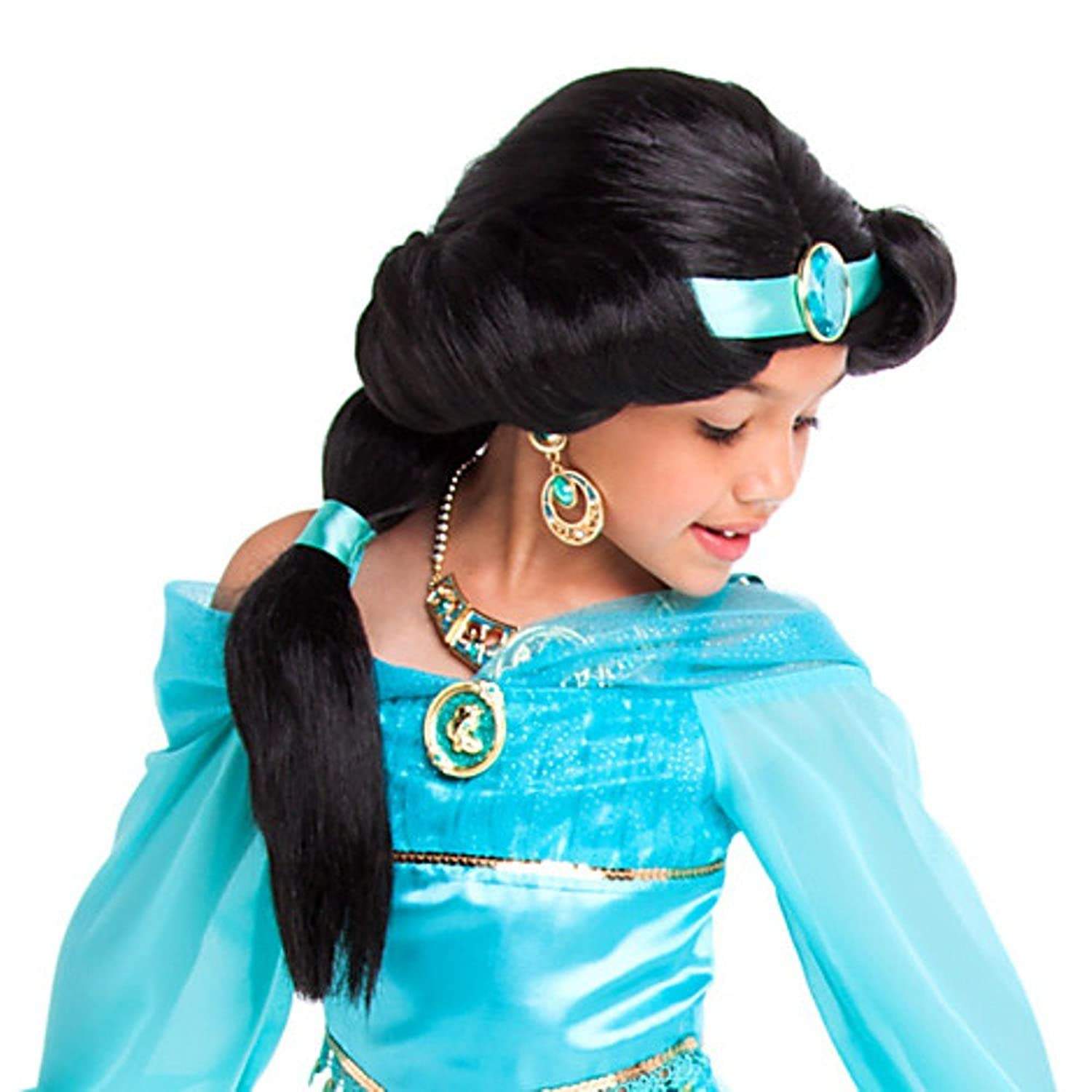 Disney Store Princess Jasmine Costume Wig ~ girls