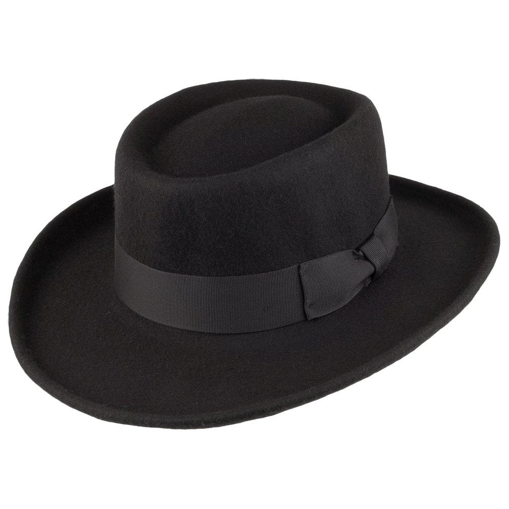 d7702f8a8 Amazon.com: Jaxon Hats Wool Gambler Hat: Clothing