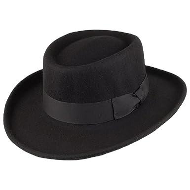 Amazon.com  Jaxon Hats Wool Gambler Hat  Clothing 4d0fb6b8321