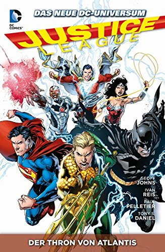 Justice League: Bd. 3: Der Thron von Altantis