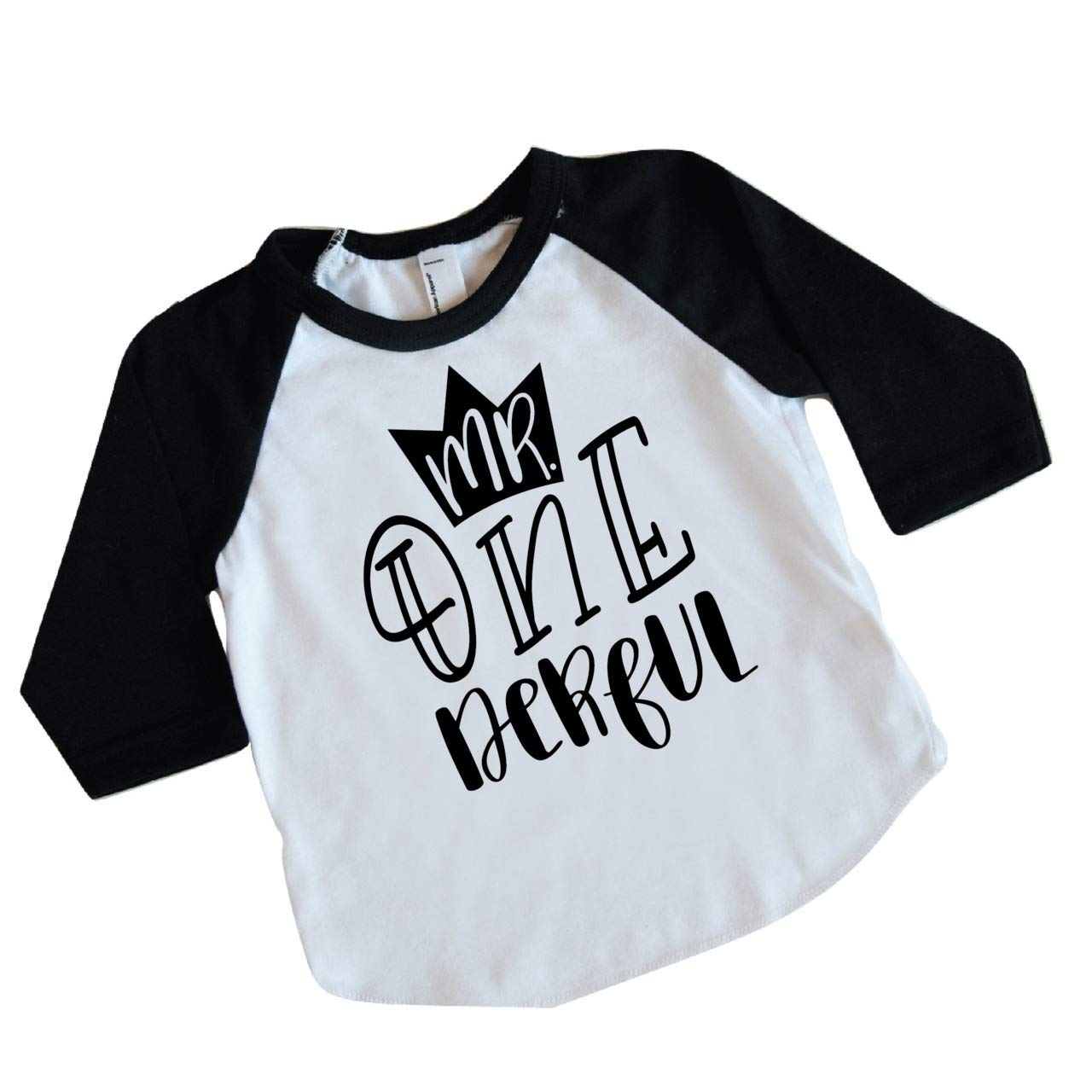 Amazon Boy First Birthday Shirt 1st Outfit Mr One Derful Clothing