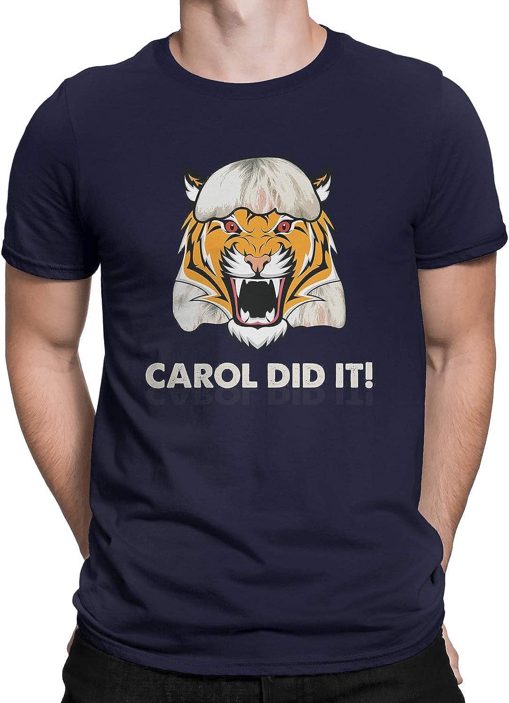 Joe Exotic Tiger King Carol Did It T-Shirt