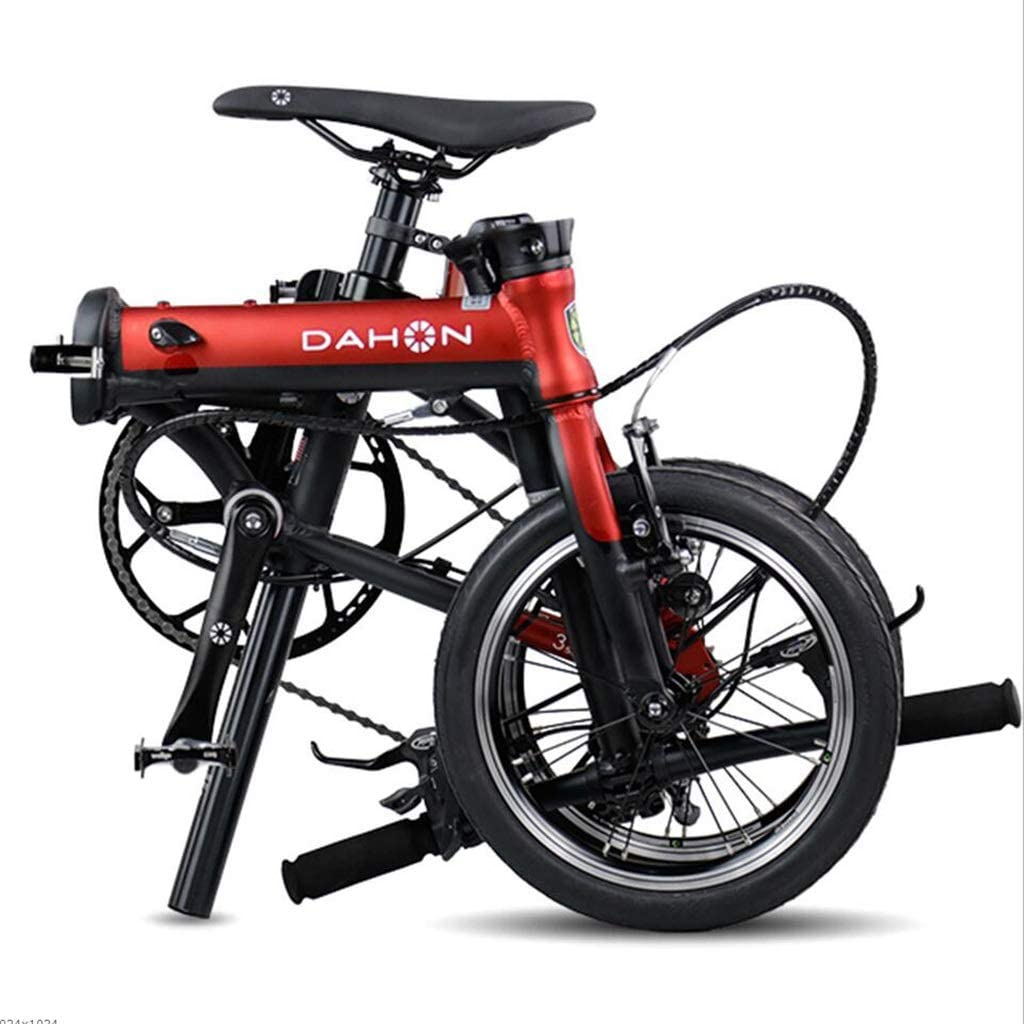 Amazon.com: Bicicleta plegable unisex de 14 pulgadas con ...