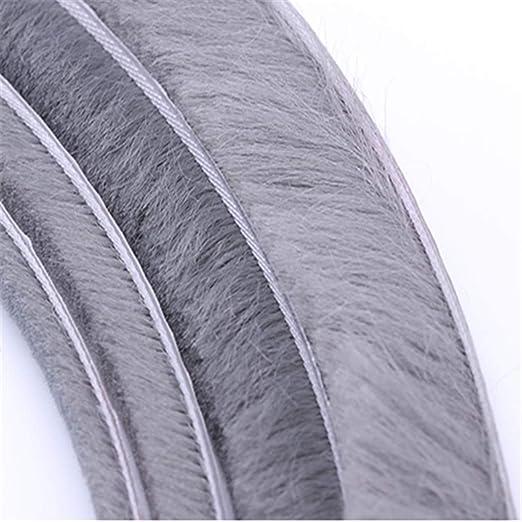 Tapis Coupe-vent Scell/és 10m Joints De Porte Et Fen/être Joints De Colle Thermofusible 9mmX15mm Gris Tops Brosses 9mm*15mm