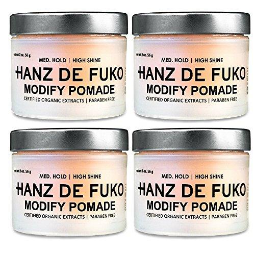 Hanz de Fuko Modify Pomade, 2 oz. (4 pack) by Hanz de Fuko