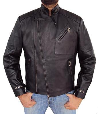 moto leather jacket mens. the leather factory men\u0027s asymmetric lambskin designer moto biker jacket xs black mens t