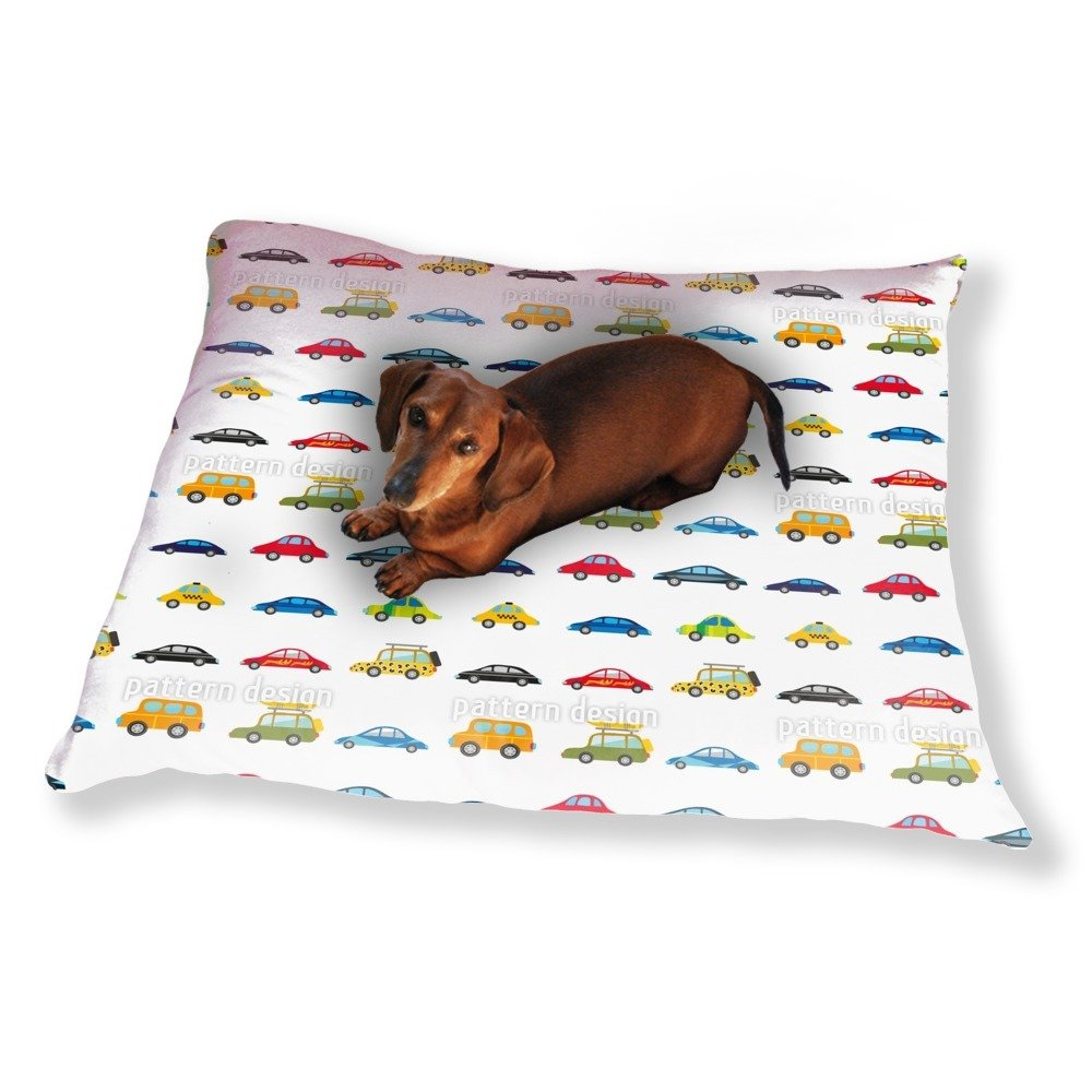 Funny Cars Dog Pillow Luxury Dog / Cat Pet Bed