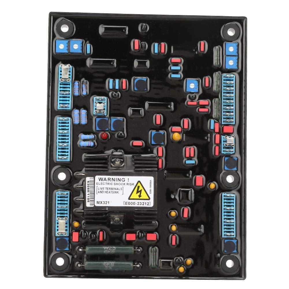 Voltage Regulator, MX321-A AVR Automatic Voltage Regulator Adjuster Generator Spare Parts by Suchinm