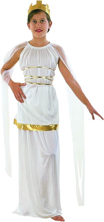EL CARNAVAL Disfraz niña Griega Talla de 4 a 6 años: Amazon.es ...