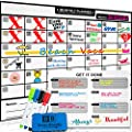 Magnetic Dry Erase Calendar For Refrigerator 17x12 Weekly Magnetic Calendar Monthly Whiteboard Wall Calendar And Fridge Board Planner Dry Erase Markers Eraser 2019 Home Or Office