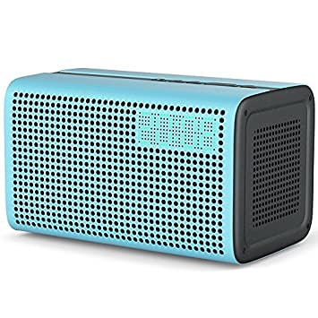 Inteligente Altavoz WiFi, Bluetooth Speaker 10W Equipado con Amazon Alexa Voz Control, para Spotify Online Airplay Multiroom Sonido Estéreo for iOS y Android Dispositivos - Azul