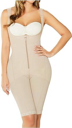 Fajas Diane Geordi Colombianas Reductora Moldeadoras Topless Latex Fit Shapewear