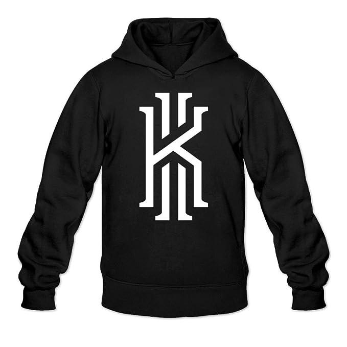 yque hombre Kyrie K Logo irvi # 2 baloncesto Sudaderas con capucha sudadera negro - negro -: Amazon.es: Ropa y accesorios