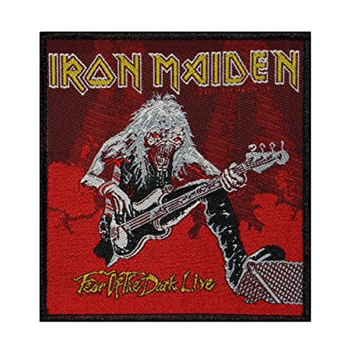 Iron Maiden Fear of the Dark Live Patch Eddie Raising Hell Woven Sew On Applique