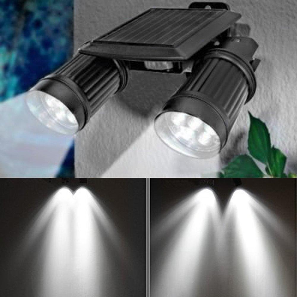 LED Gartenleuchte 14 LED Solar Power Bewegung PIR Sensor Licht Garten Sicherheit Scheinwerfer Lampe